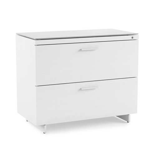 Centro 6416 Office File Cabinet White
