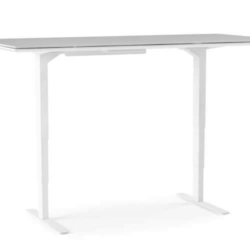 Centro 6452 Office Standing Desk White