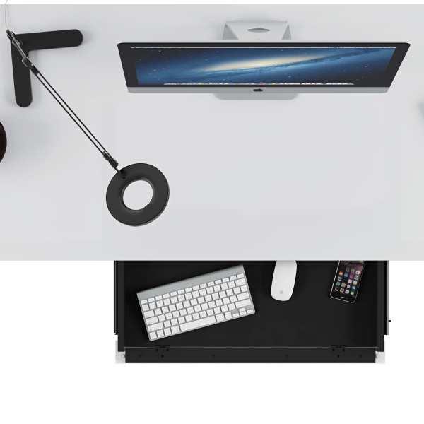 Centro Office Desk 6401 Satin White