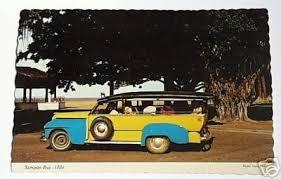Aloha, sampan bus