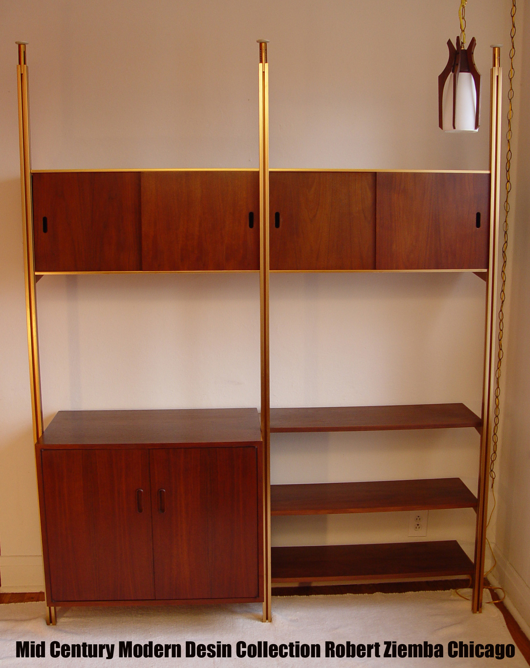 Mid Century Modern Omni Storage System By George Nelson From