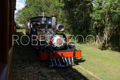 In a railroad museum in Minas Gerais, Brazil, we found this very interesting steam locomotive, well kept and in full working order.