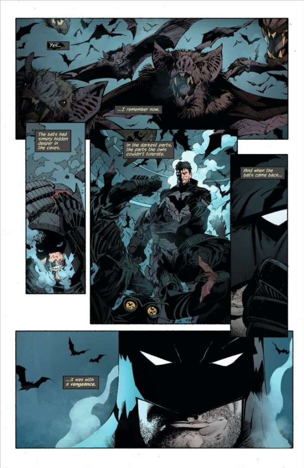 "From Snyder/Capullo ""Night Of The Owls"". Batman #9"
