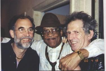 Rob Fraboni, Hubert Sumlin, Keith Richards