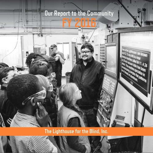 FY 2016 Annual Report - cover