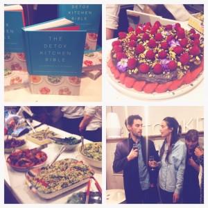 The Detox Kitchen Launch Party - speech