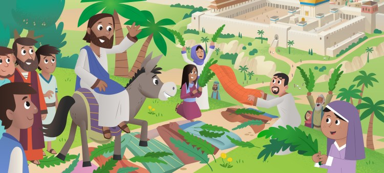 Donkey and the King - Bible App for Kids