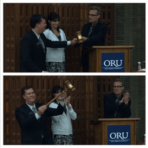 Gavel @ ORU installment