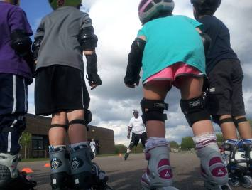 Robichon's Maple Grove Pre School Inline Skate Camp