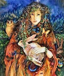 Eostre, goddess of fertility.
