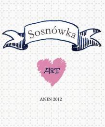 Etykieta na Sosnówkę - Robimy Śluby
