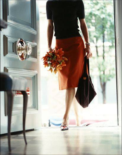 woman-carrying-flowers