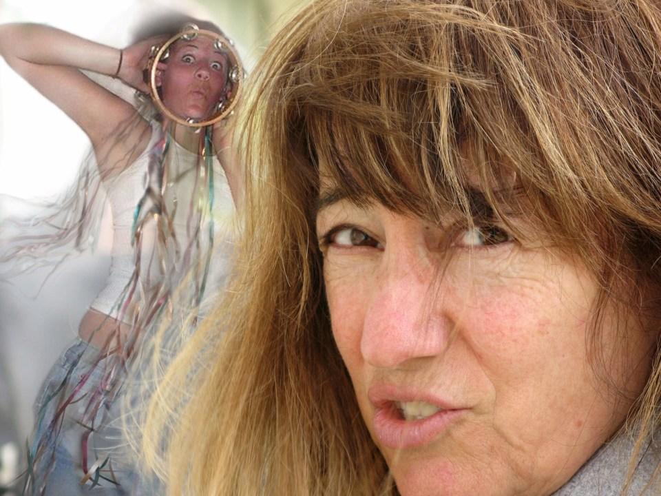 Robin Botie of Ithaca, New York, with Marika Warden living big.
