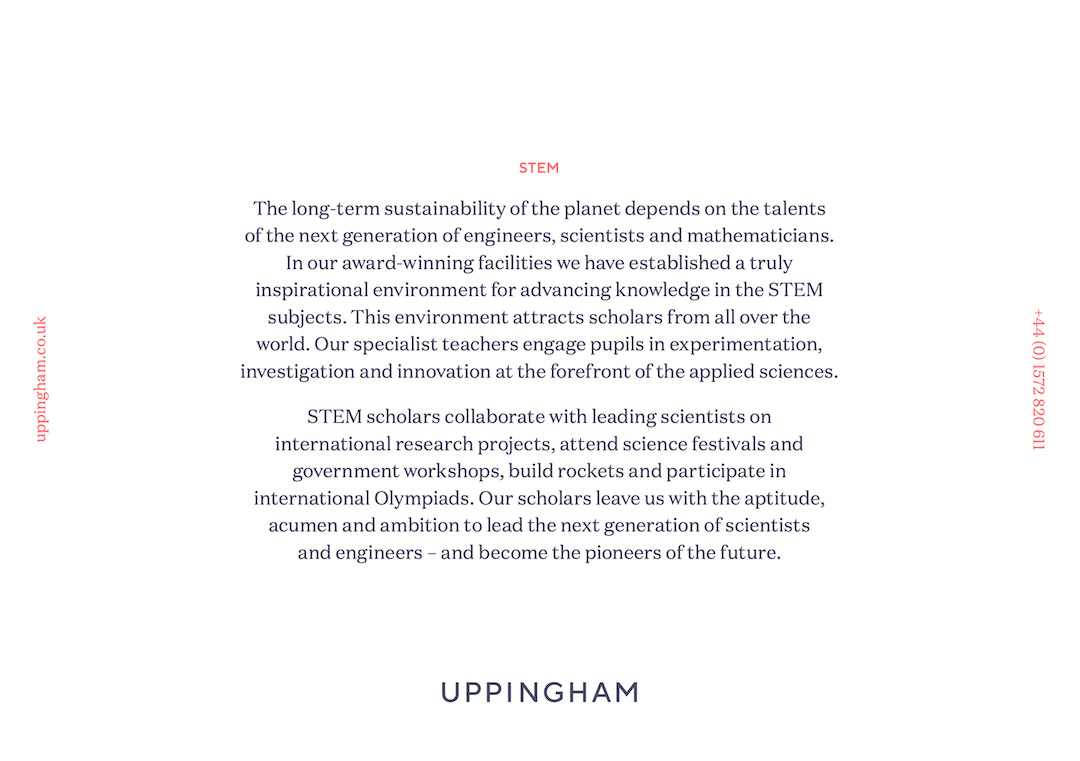 Uppingham for the Visionaries