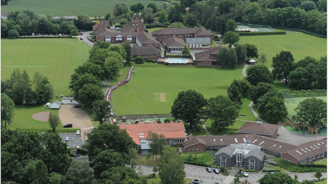 Dulwich Prep Cranbrook Drone