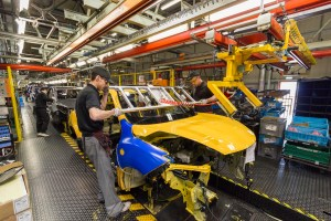 Nisssan Juke production line Sunderland