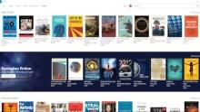 Image: Microsoft e-book store on Edge