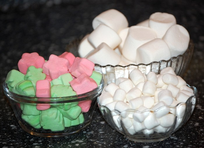 3 Kinds of Marshmallows by Robin Dance