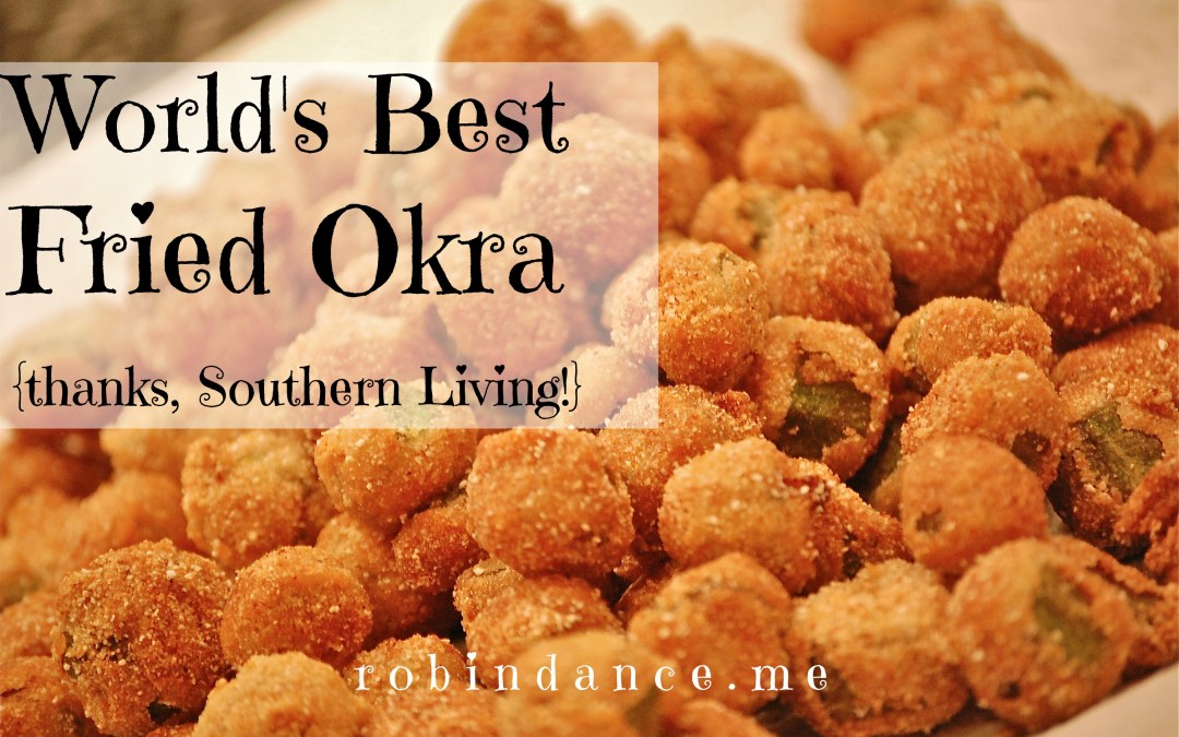 The best fried okra in the world