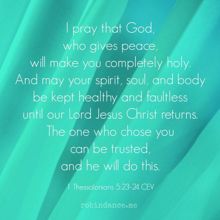 1 Thessalonians 523-23