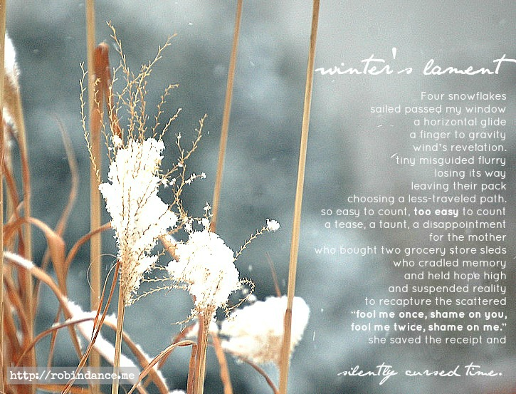 Winter's lament