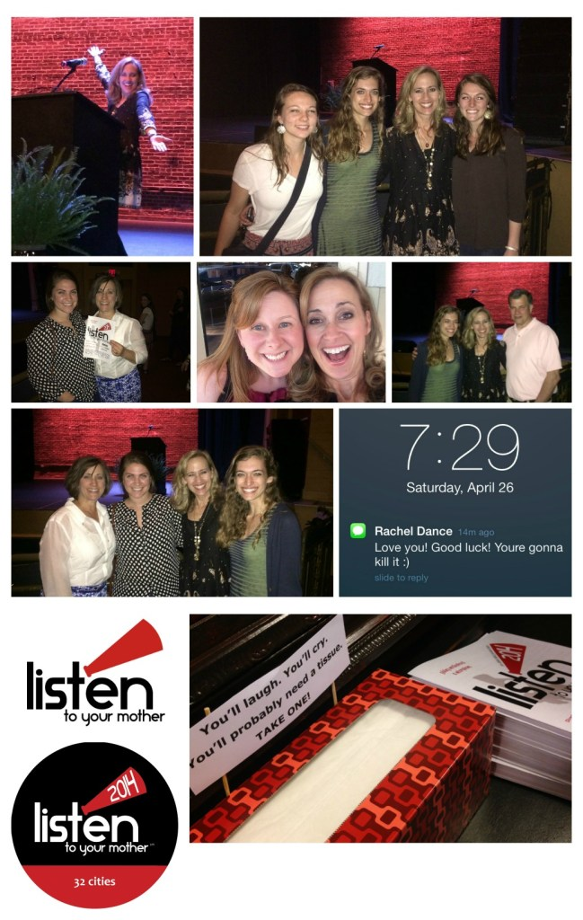 Listen to Your Mother Show Collage - Atlanta 2014
