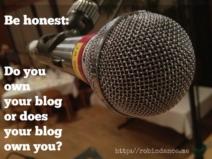 The question all bloggers must ask
