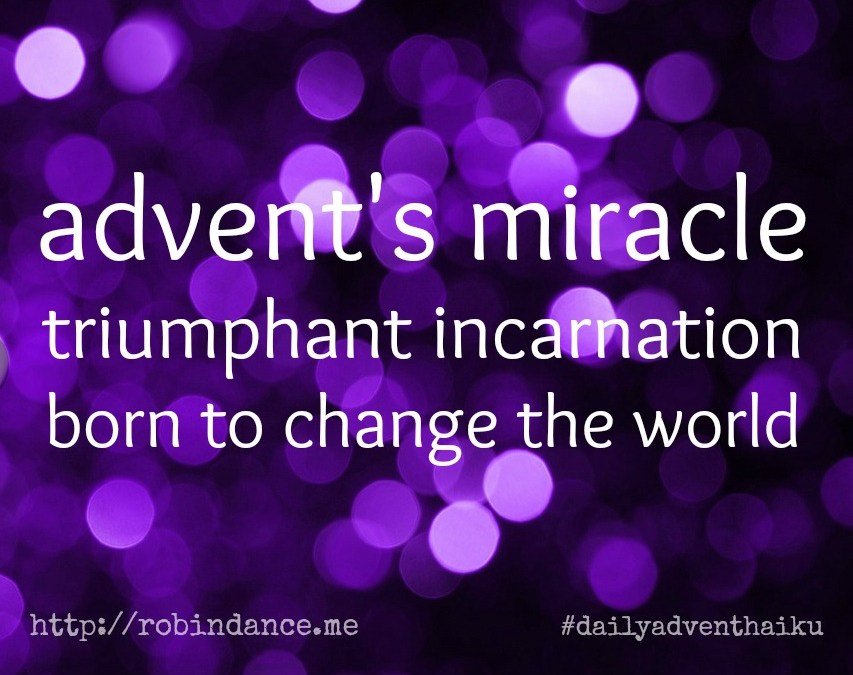 A Merry Little Christmas Poem, #2   ||   #dailyadventhaiku