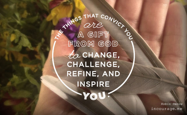 Thoughts and Convictions    {incourage}