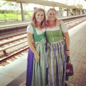 Dirndl - a German Princess Dress!