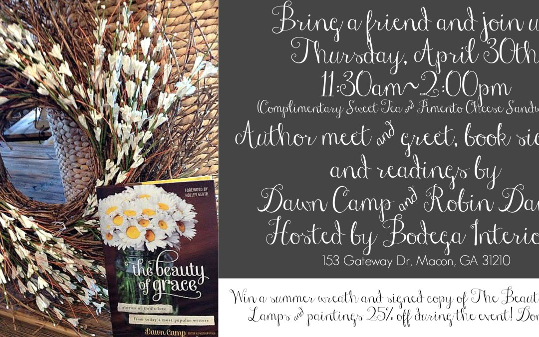 Author Meet and Greet: The Beauty of Grace (Join Us!)