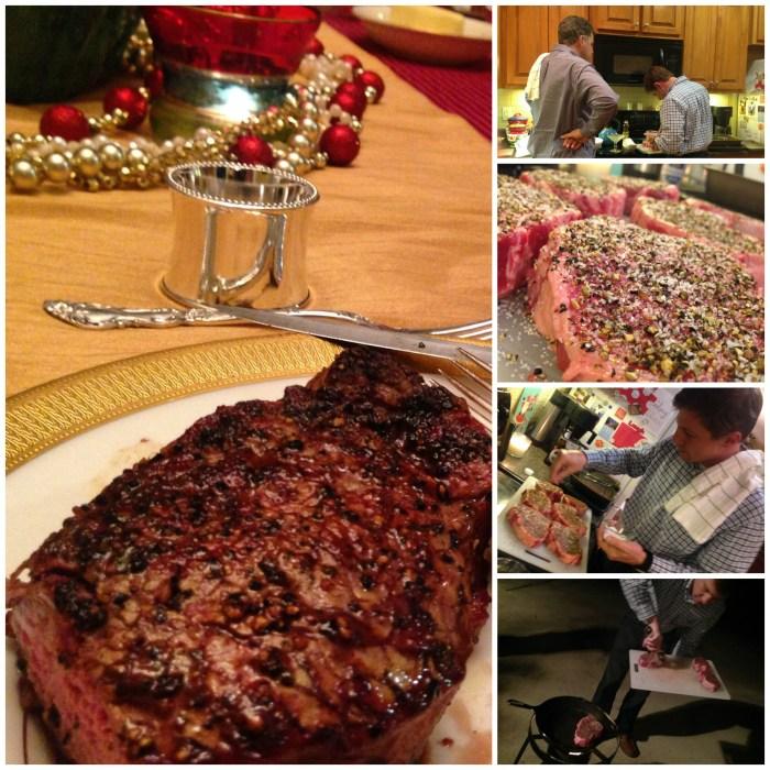 Preparing the perfect steak