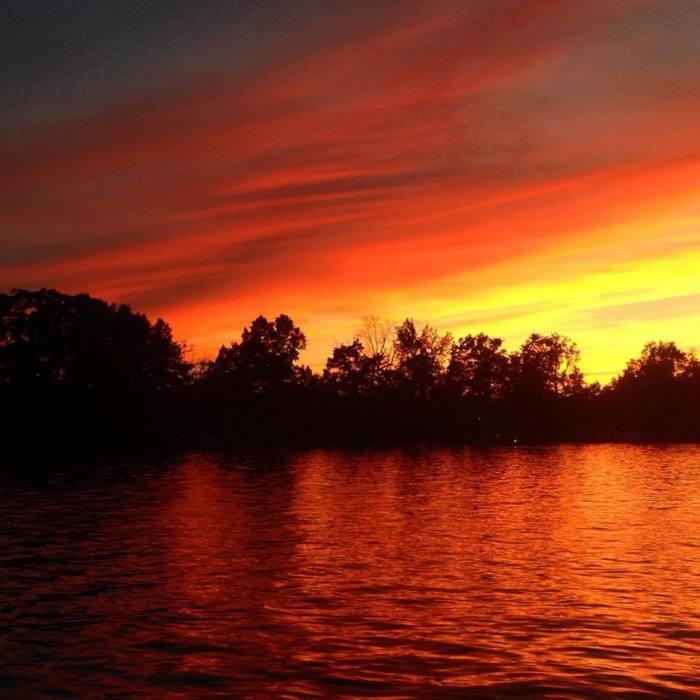 Sunset on Pine Lake
