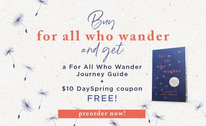 For All Who Wander Book preorder gifts