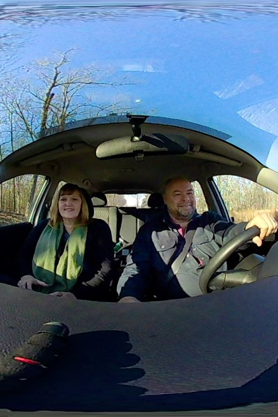 On the way to a Marketing meeting recently, Rod and I briefly stopped at Washington County Lake to soak in the view, or more specifically, a virtual reality 360 degree view. | Robin Deutschmann