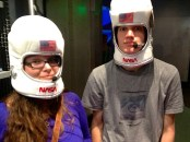 Allie and Jacob survived their space trip.