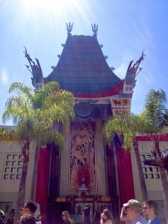 The Great Movie Ride (a must!) is housed in the Chinese Theater. This building is beautiful, but somewhat covered up when WDW added Sorcerer Mickey's Hat in front of it.