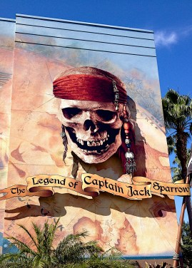 The Legend of Captain Jack Sparrow is an interesting show with special effects and 'almost live' visit from the real Jack Sparrow himself!
