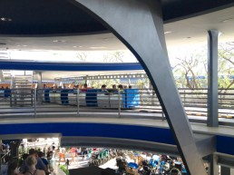 The Tomorrowland Transit Authority PeopleMover was a welcome sight!