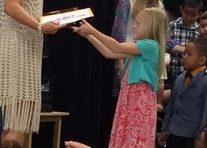 AK Receives Diploma