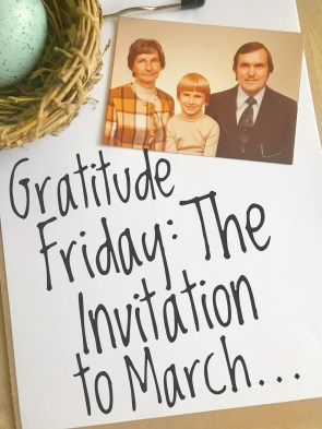The Invitation to March