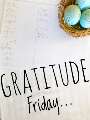 Gratitude Friday Charts