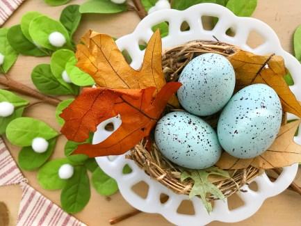 White Plate Nest