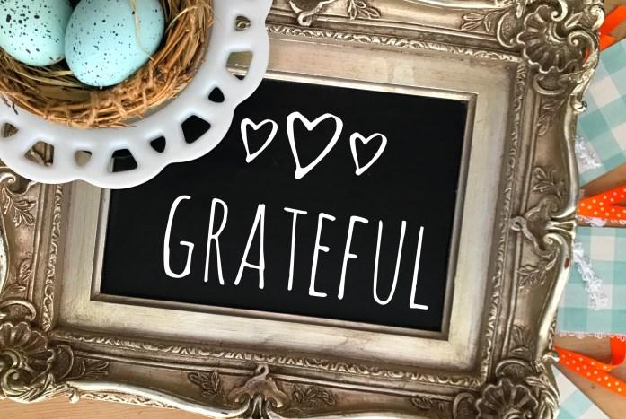 Grateful nest...