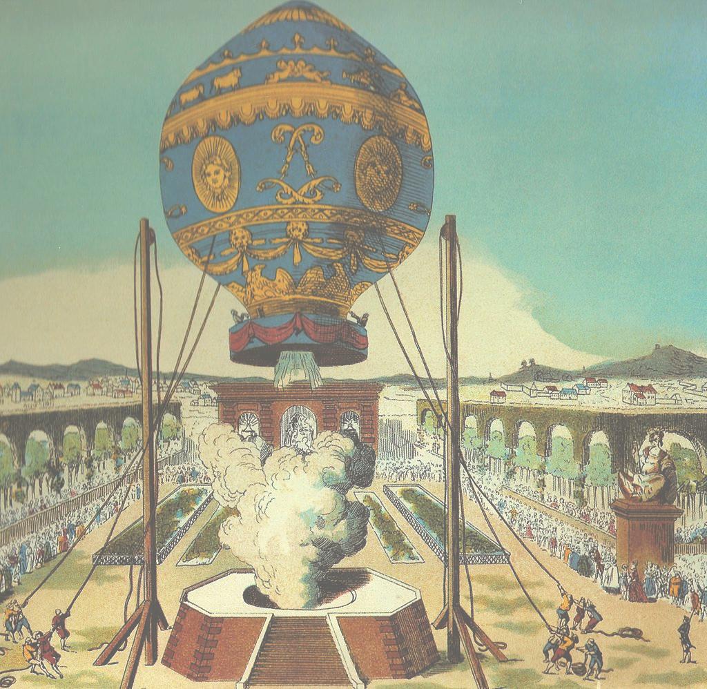 1783 Montgolfier Bros Flight