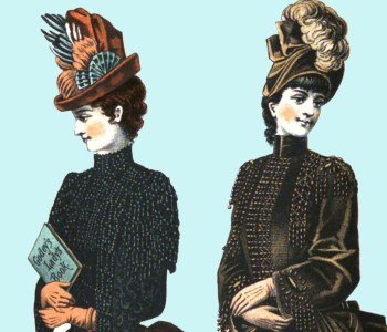 1888 Godey's Lady's Magazine-Color Plate