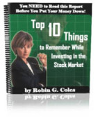 top 10 things to remember while investing in stock market - report by Robin G Coles