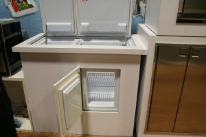 Indel-Webasto Isotherm Refrigerator/Freezer with top and front doors