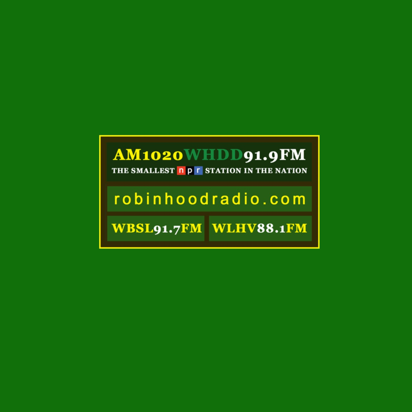 ROBIN HOOD RADIO ON DEMAND AUDIO