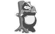 Little the badger